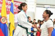 Yuri Alvear hizo parte del triunfo del Valle en el Nacional de Judo