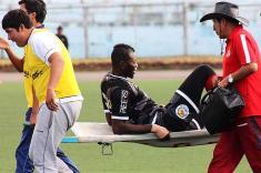 """""""No me esperaba una lesión así"""": Víctor Guazá"""