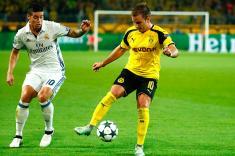 Real Madrid, con James Rodríguez, no pudo con el Borussia Dortmund en la Champions League