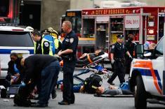 Investigan causas de choque de tren con estación en Nueva Jersey, EE.UU.