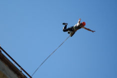 Aventura extrema: ¿se anima a hacer puenting?