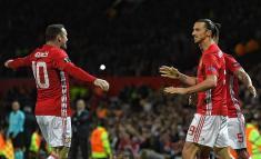Zlatan Ibrahimovic salvó al Manchester United