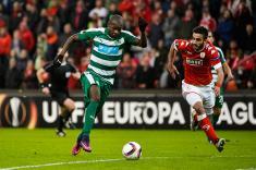 Víctor Ibarbo convirtió su primer doblete en la Uefa Europa League