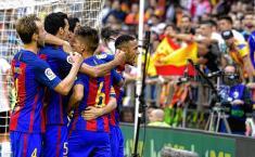 El Barcelona está de pelea con la Liga de España