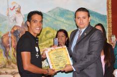 Járlinson Pantano, homenajeado por la Asamblea del Valle del Cauca
