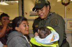Rescatan a bebé que había sido raptada en el centro de Cali