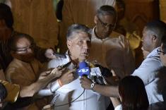 """""""Perdonamos para no seguir secuestrados por el odio"""": Sigifredo López"""