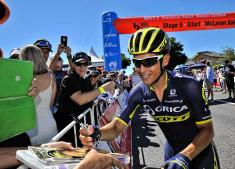 Esteban Chaves es segundo en el Tour Down Under