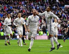 El Real Madrid volvió a la victoria en España al vencer 2-1 al Málaga