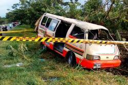 Cinco heridos en accidente de tránsito en la vía Tuluá-Andalucía