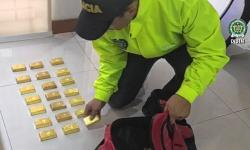 En video: los lingotes de oro incautados en Cali, avaluados en $3 mil millones