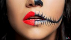 Siga estos consejos para que el maquillaje de Halloween no deje estragos en su piel