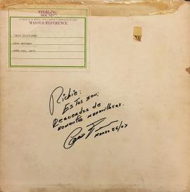 Este es el fólder donde reposa la versión de la canción 'La Cumbita', interpretada por Cheo Feliciano en 1973, antes de ser conocida en la voz de Ismael Rivera. <br>Tomada del Facebook de Richie Viera