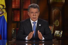 El presidente de la República, Juan Manuel Santos. Foto: Cortesía Presidencia