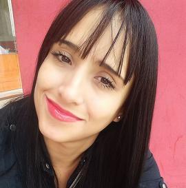 Ximena Suárez, auxiliar de vuelo.<br>Tomada de Facebook