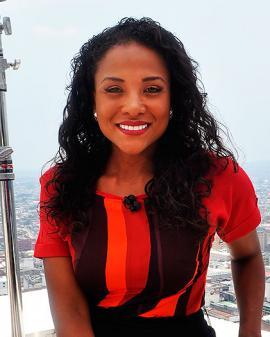 Mabel Lara, periodista.<br>