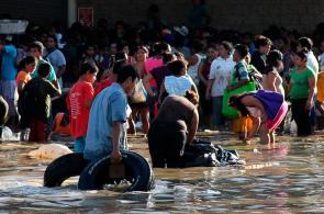 Tristeza por paso de tormentas en México