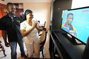 En la casa de doña Hermelinda, la madre de Óscar Figueroa