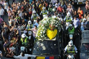 Miles de caleños dieron el último adiós al maestro Jairo Varela