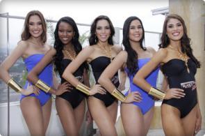 Video: candidatas a Señorita Valle se destaparon en el desfile de traje de baño