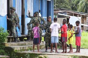 Fantasma del desplazamiento acecha a la comunidad de Las Mercedes, Chocó