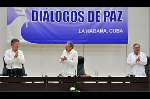 Video: momento de la firma del fin del conflicto entre Gobierno y las Farc
