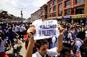 En imágenes: diferentes países se unieron para rechazar los ataques a Gaza