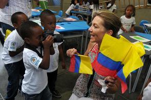 Imágenes: Primera Dama inaugura dos centros para la primera infancia
