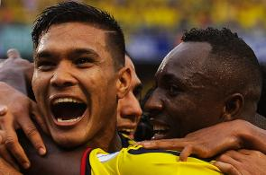 Las mejores celebraciones de los goles de la selección Colombia