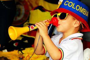 Fotos: los aficionados de la selección Colombia, el 'jugador #12'