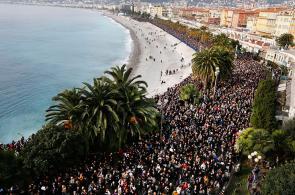 En fotos: Francia salió a las calles en protesta por ola de terror yihadista