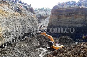 Imágenes: tragedia en Santander de Quilichao por derrumbe de mina ilegal