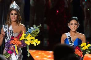 Las imágenes de la coronación más desastrosa en la historia de Miss Universo