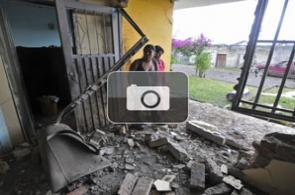 Imágenes de enfrentamientos en Caldono, Cauca