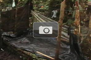 Imágenes del campamento de Alfonso Cano