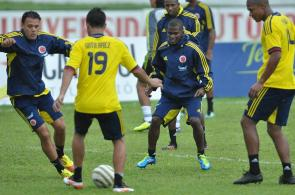 Selección Colombia - entrenamiento