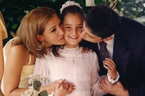 El álbum familiar de Melina Ramírez, señorita Valle 2011
