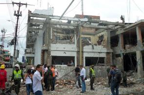 Imágenes del atentado terrorista en Tumaco