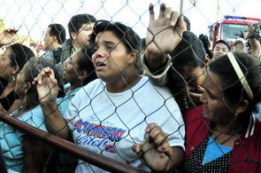 Imágenes del incendio en cárcel de Honduras