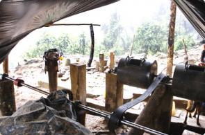 Minería ilegal en el Parque Natural Los Farallones