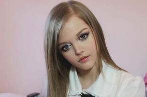 Imágenes de la niña que parece una Barbie real