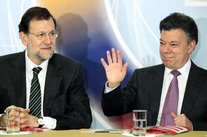 Imágenes: visita de Mariano Rajoy a Colombia