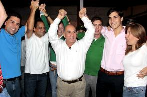 Así celebró el nuevo Gobernador del Valle del Cauca su triunfo
