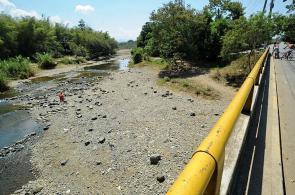 Imágenes: los ríos de Cali ya no tienen agua por culpa del calor