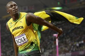 Usain Bolt no corre, vuela