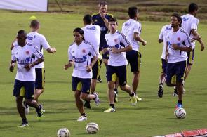 Selección Colombia trabaja en Barranquilla
