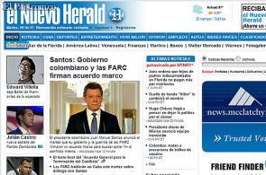 Así registraron los diarios del mundo la noticia del proceso de paz en Colombia