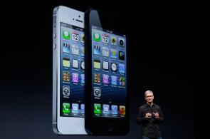 Imágenes del lanzamiento del nuevo iPhone 5