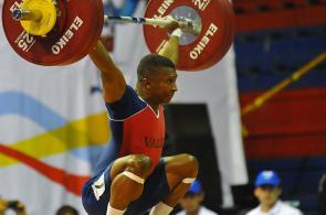 Óscar Figueroa brilló en las pesas de Juegos Nacionales