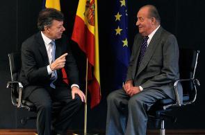 Imágenes: presidente Santos durante la Cumbre Iberoamericana de Jefes de Estado